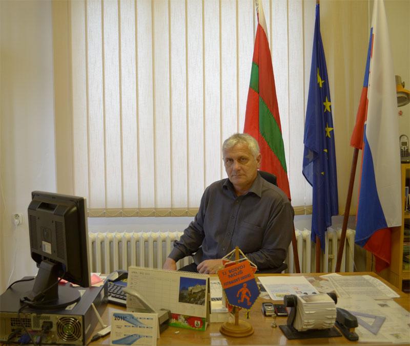 starosta obce Štefan Svetko